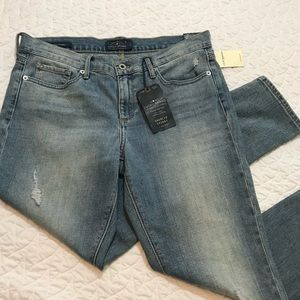 Lucky Brand Charlie Skinny Ankle Jeans Size 12
